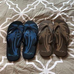 e71aeb1241867e Panama Jack Shoes - Bundle (2) pairs of Men s Panama Jack flip flops👣